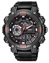 Q&Q Analog-Digital Black Dial Men's Watches - GW87J002Y