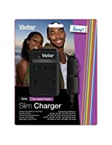 Vivitar SCSON2 Charger for Sony Battery (Black)