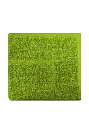 Manterol Alfombra Baño Rizo Algodón (Verde)