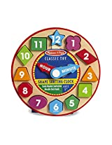 Melissa and Doug Shape Sorting Clock (2013)