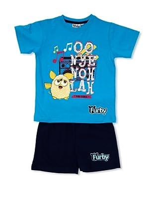 Licencias Pijama Furby (Azul / Marino)