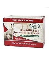 Alpen Secrets Goat Milk Soap, 20 Oz, Country Fresh 4 Ea