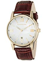 Giordano Analog White Dial Men's Watch - 60050-03