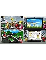 Super Mario Kart 3DS XL Vinyl Skin Decal Sticker for 3DS XL