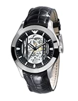 Emporio Armani Meccanico Analog Multi-Color Dial Men's Watch - AR4648