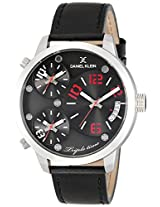 Daniel Klein Analog Black Dial Men's Watch - DK10814-4