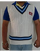 S-Mark Sleeveless Cricket Sweater (XL=42)
