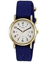Timex Weekender Analog Off-White Dial Unisex Watch - T2P4756S