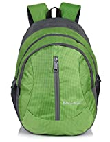 Bag-Age Happy 30 Large School Backpack (Green)