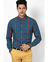 Green Casual Shirt Peter England