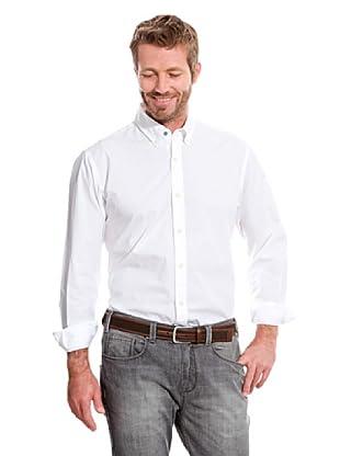 Cortefiel Camisa Liso (Blanco)