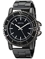 "Breda Men's 8175-Black ""Eddie"" Watch"