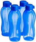 Tupperware Aquasafe Water Bottle Set, 1 Litre, Set of 4