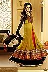 Nargis Fakhri Mustard Anarkali Suit -TBSUGLO2601