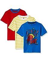 Cloth Theory Boys' T-Shirt (Pack of 3)