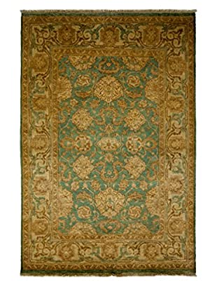 Darya Rugs Ottoman Oriental Rug, Light Blue, 4' 8