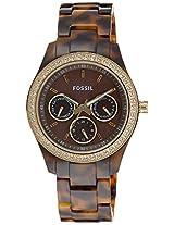 Fossil ES2795 Analog Women's Watch-Brown