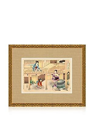 1898 Toyokuni, Asian Woodblock Print I