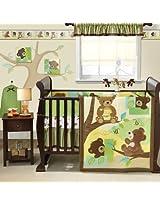 Honey Bear 4-piece Bedding set