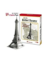 3D Puzzle Cubic Fun Eiffel Tower