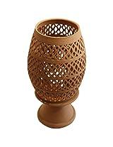 """Tejas """"Filigree"""" Terracotta Showpiece (Size: 25 cm x 45 cm; Colour: Brown)"""