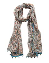 Dushaalaa Women's Scarves (L x B : 39 Inches X 39 Inches)