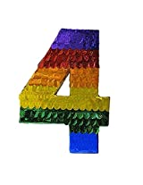 Number Four Pinata