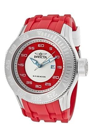 Invicta 11940 - Reloj de Caballero cuarzo poliuretano Rojo