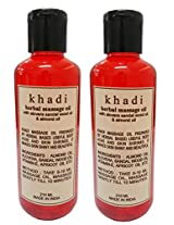 Khadi Sandalwood Massage Oil (Twin) 420ml