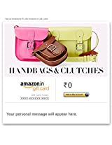 Handbags & Clutches - E-mail Amazon.in Gift Card