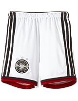 Adidas Germany Home Kids's Shorts, Large (White)