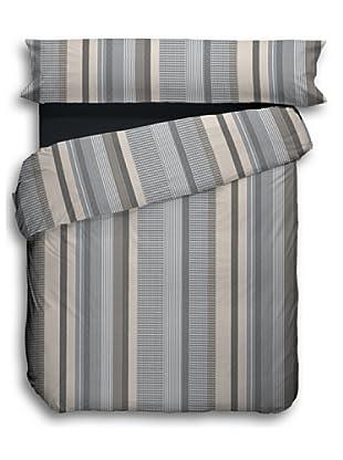 Alba Funda Nórdica Texture (Moka)