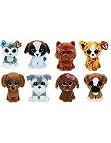 Ty Slush Duke Whiskers Dougie Maddie Barley Brutus Pablo Dogs Set Of 4 Beanie Boos Stuffed Animal Plush Toy