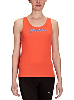 PUMA Tank Top Organic Cotton (hot coral)