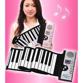 ♪NEW ハンドロールピアノ61K ACアダプタ付