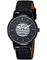 MTV Analog Black & White Dial Men's Watch - B7019GY