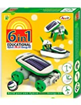 Annie 6 - in - 1 Educational Hybrid Solar E Kit Series 1, Multi Color