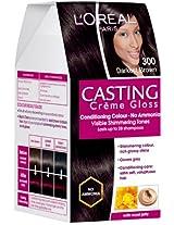L'Oreal Casting Creme Gloss, Darkest Brown 300