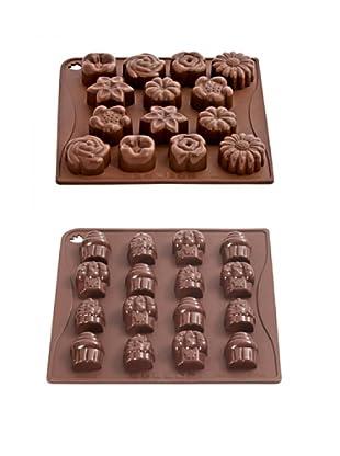 Pavoni Set 2 Moldes Para Chocolatinas
