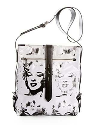 Andy Warhol by Pepe Jeans Bolso Shoulder Marilyn Blanco