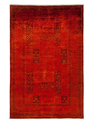 Darya Rugs Transitional Oriental Rug, Rust, 9' 1