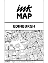 Edinburgh Inkmap - maps for eReaders, sightseeing, going out, restaurants, hotels (English)