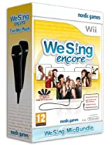 We Sing Encore plus 2 Mics (Nintendo Wii) (NTSC)