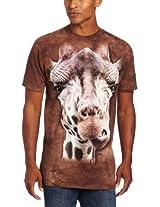 The Mountain Men's Giraffe T-Shirt, Brown, X-Large