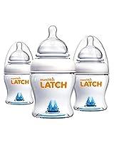 Munchkin Latch BPA-Free 4 Ounce Bottle, 3 Count