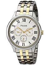 Pulsar Men's PP6171 Analog Display Japanese Quartz Two Tone Watch