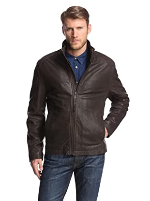 Marc New York Men's Nelson Leather Jacket (Espresso)