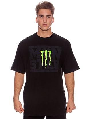 One Industries Camiseta Team Monster (Negro)