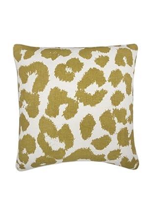 Thomas Paul Leopard Feather Pillow, Ochre