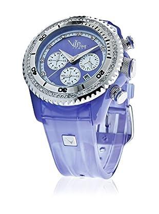Vip Time Italy Uhr mit Japanischem Quarzuhrwerk VP8032VT_VT violett 43.00  mm